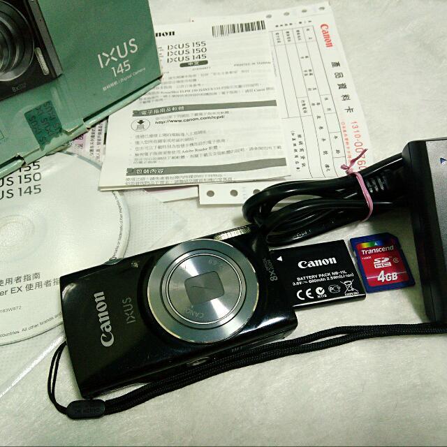 Canon 千萬畫素 數位相機 傻瓜機 長輩機