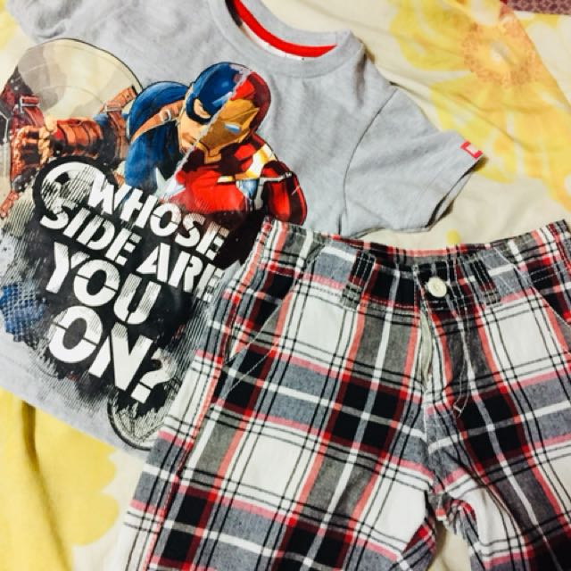 Captain America and Iron Man OOTD