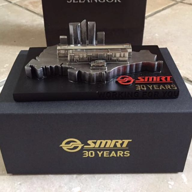 Celebrating SMRT 30 Years (Royal Selangor Pewter Collectible