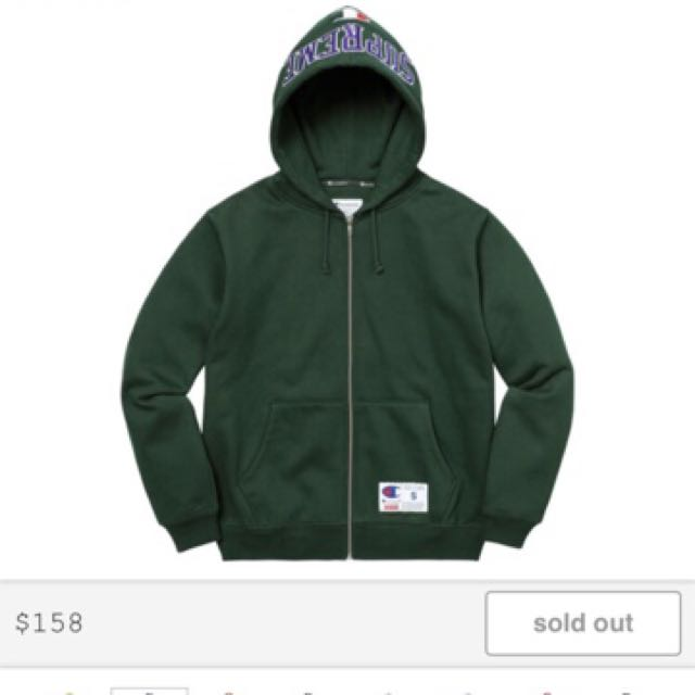 Champion x Supreme Arc Zip Up