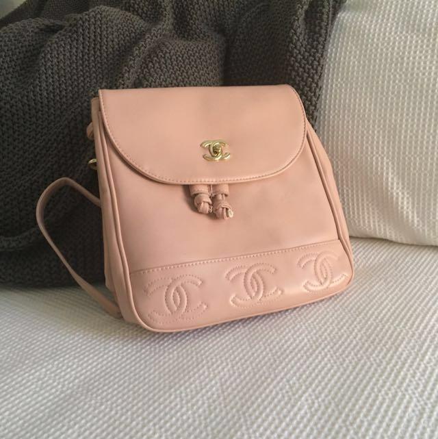 Chanel 2 Way Backpack