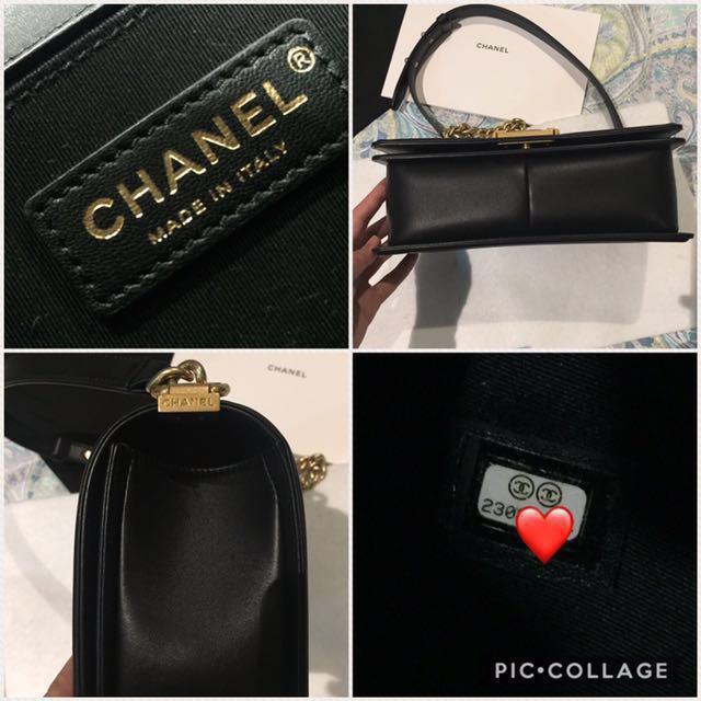 e1a4a9addffe 🔥Chanel Le Boy bag Old Medium Lambskin GHW