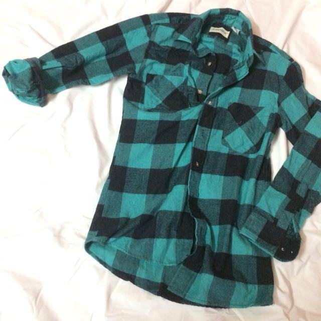 Checkered // Plaid Boyfriend Shirt