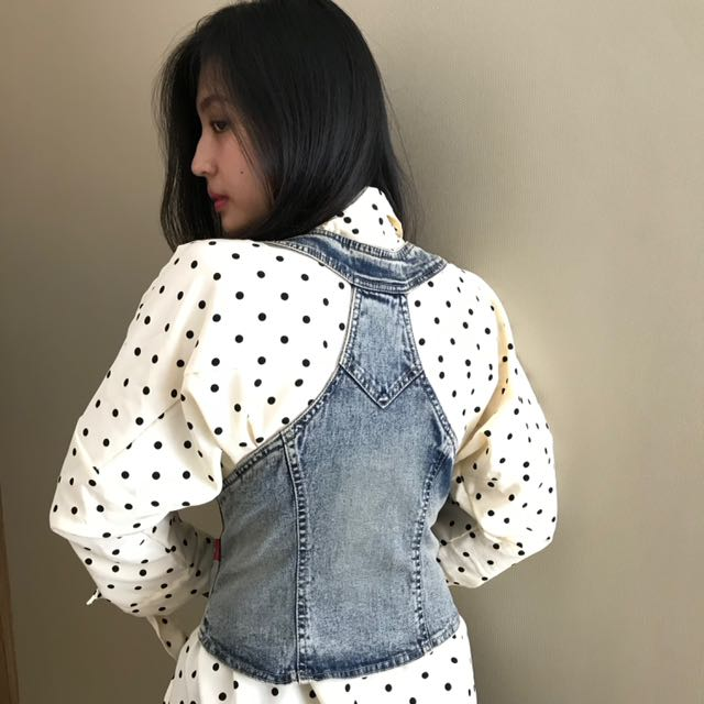 Denim outer (rompi)