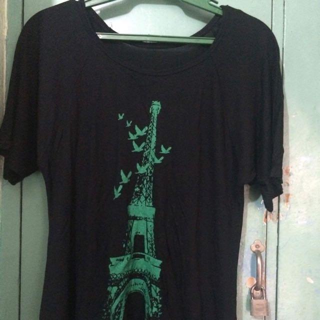 Eiffel Tower Black Top 🤗