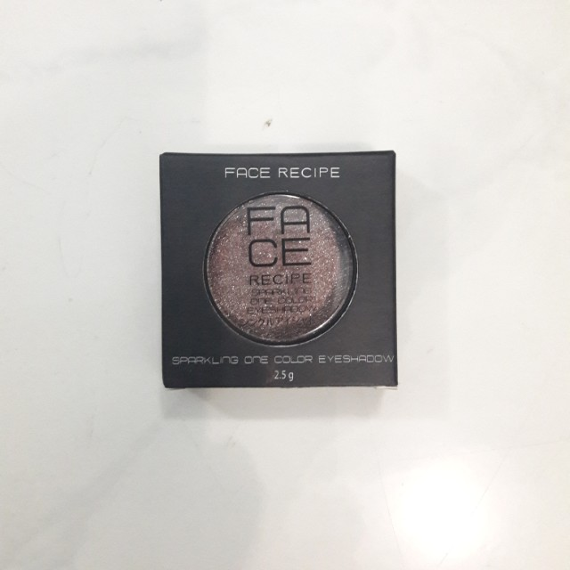 Face Recipe Sparkling One Color Eyeshadow