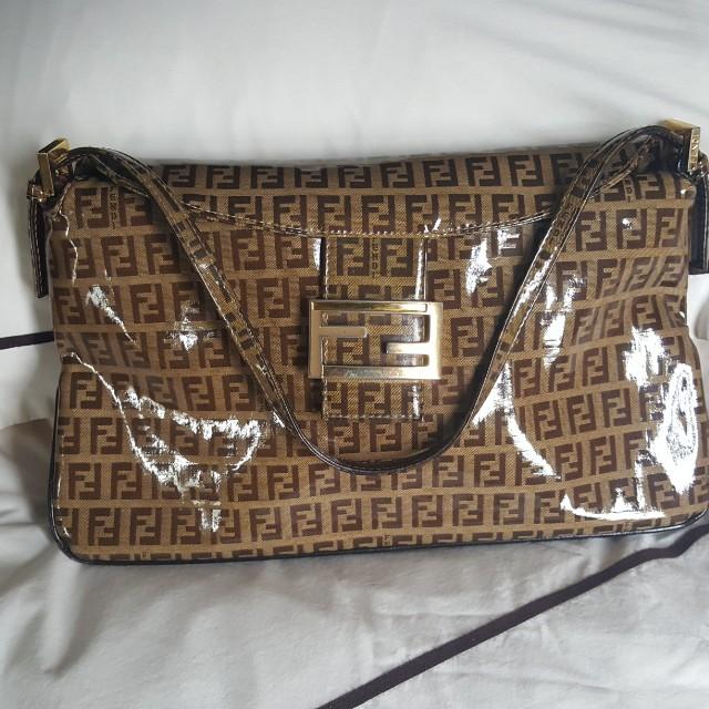 Fendi clutch or shoulder purse