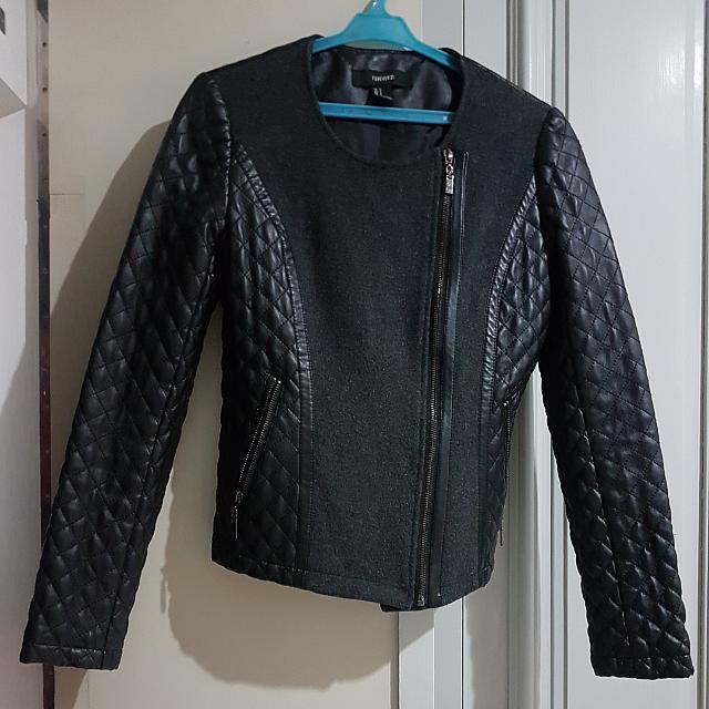 Forever 21 Soft leather jacket