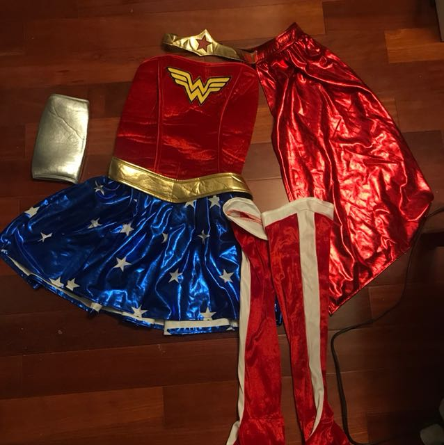 Full Wonder Woman costume
