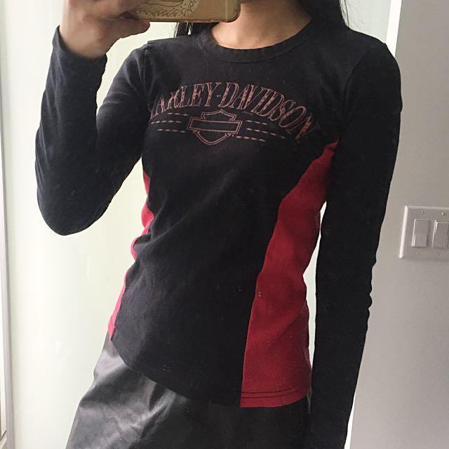 Harley Davidson Long Sleeved Tee