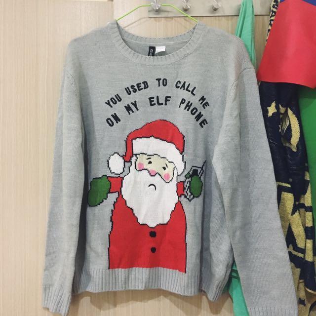 H&M Christmas Sweater 聖誕節毛衣