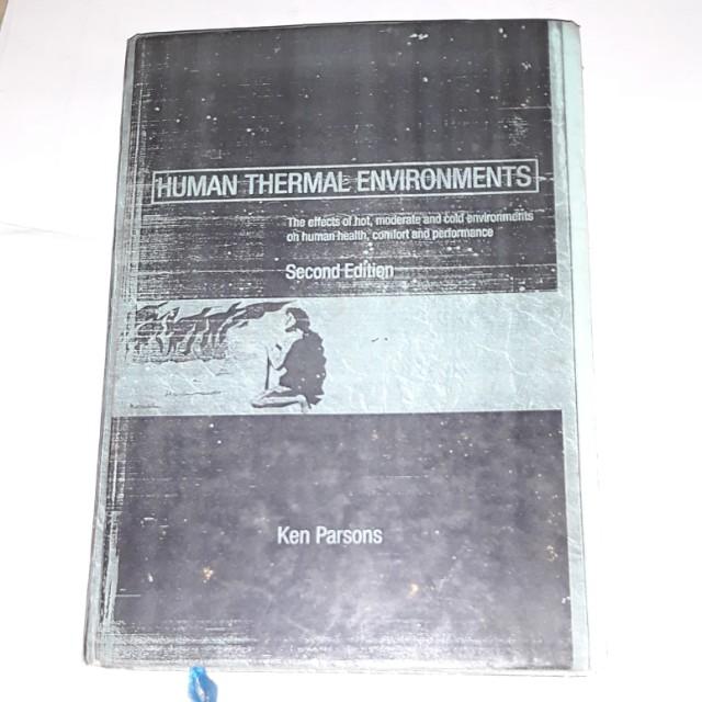 Human thermal environments