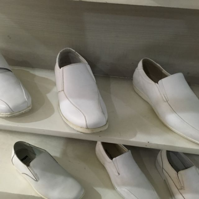 Hush puppies white men's Shoes, Men's