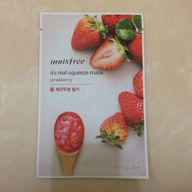 Innisfree Strawberry Mask