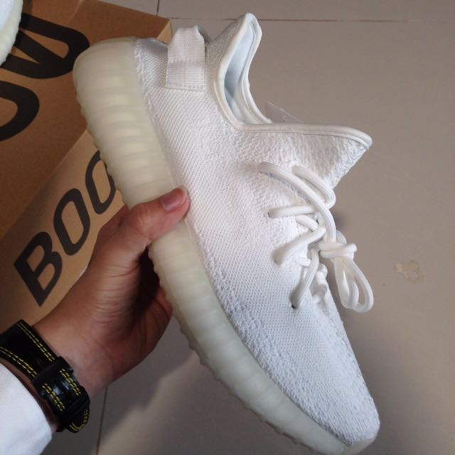 4736cdc0c44ef INSTOCK Yeezy boost 350v2 Cream White   Triple White Perfectkicks ...