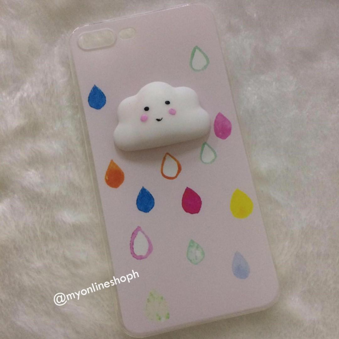 iPhone 6 Plus/6s Plus Cute Cloud Squishy TPU Case