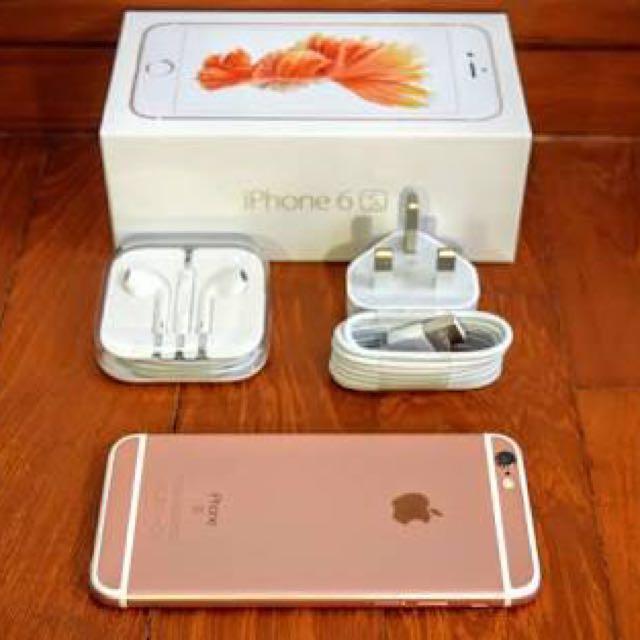 iPhone rose gold 6s (broken screen)