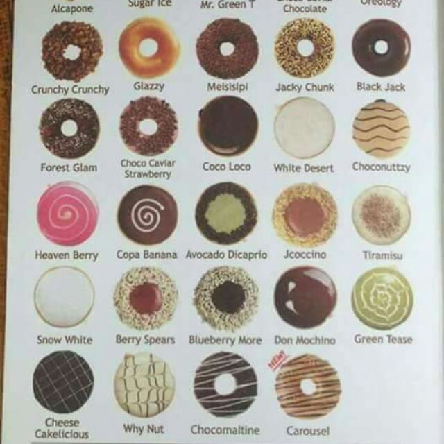 j co donuts alcapone and other flavors
