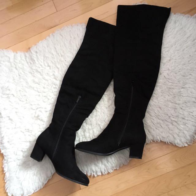 Jenny Fairy knee high boots