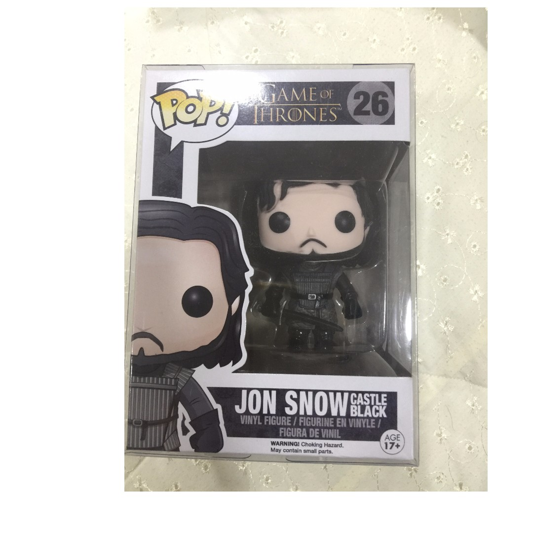 Jon Snow Castle Black Funko Pop Game Of Thrones