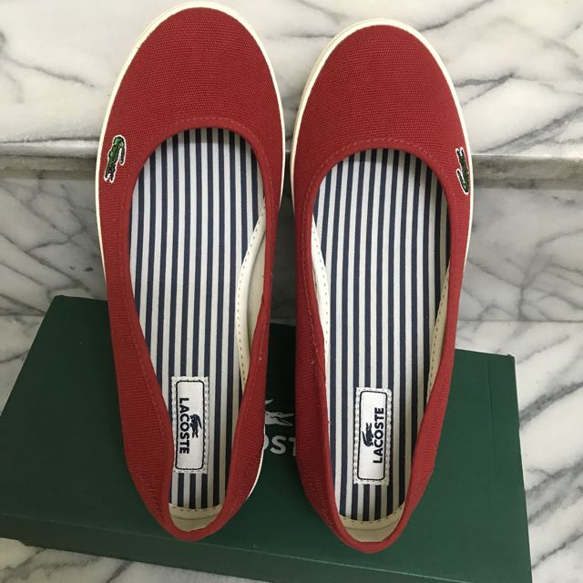 LACOSTE帆布鞋