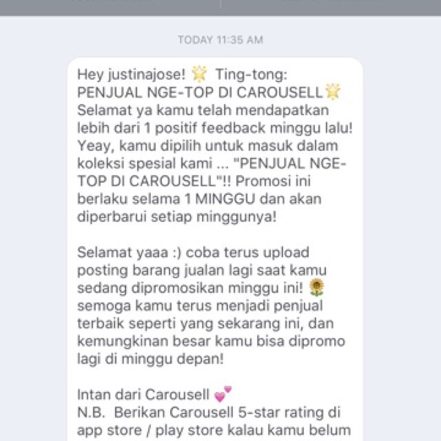 LAGI Trusted seller from Carousell