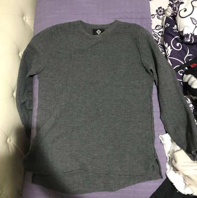 Large oversized knit jumper