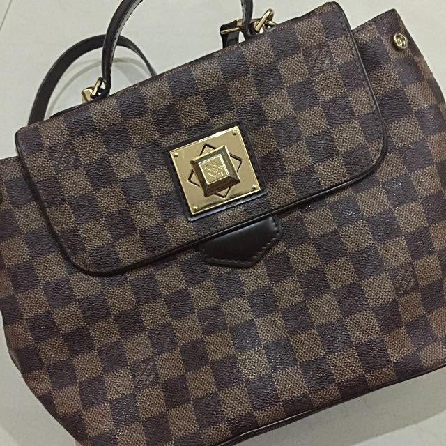 LV Monochrome Sling Bag