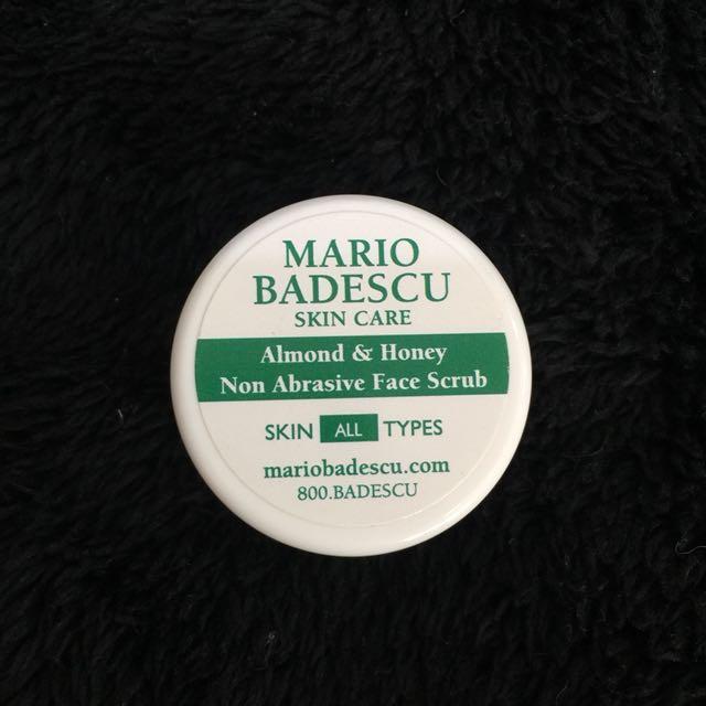 MArio Badescu almond and Honey Facial Scrub Sample