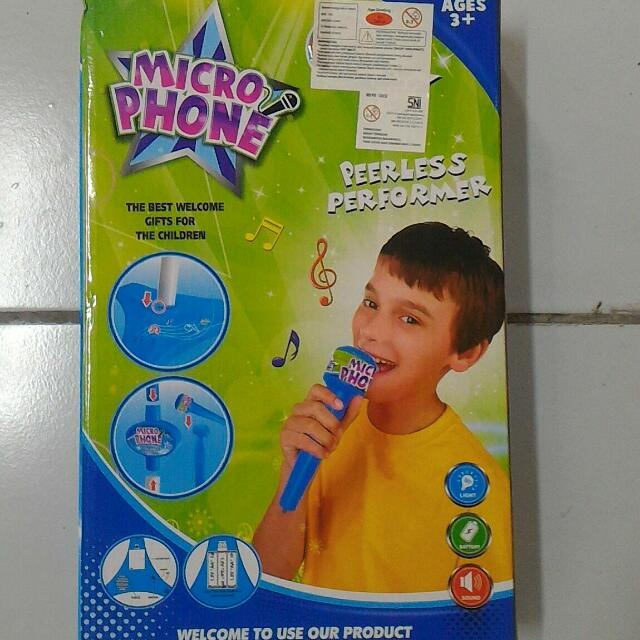 Microphone Anak New