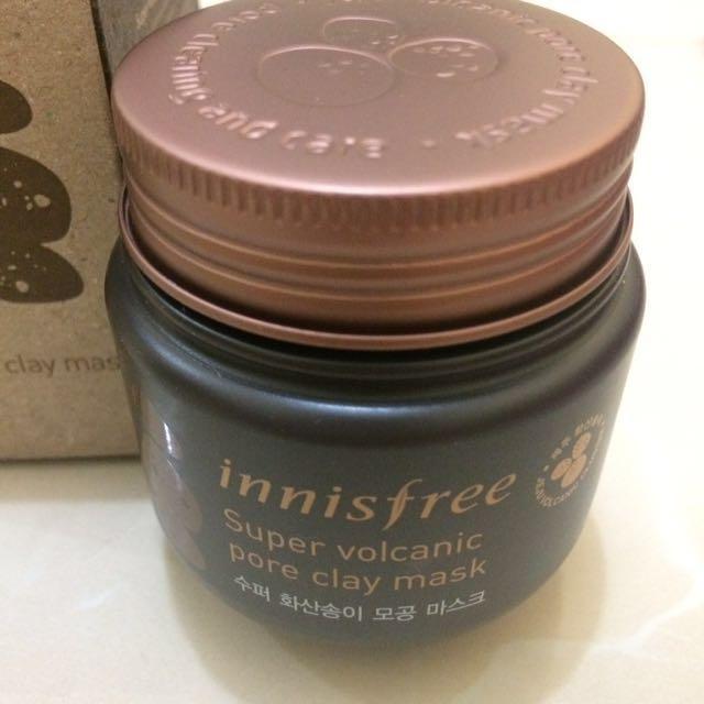 (NEW) Innisfree Super Volcanic Jeju Pore Clay Mask 100 ml