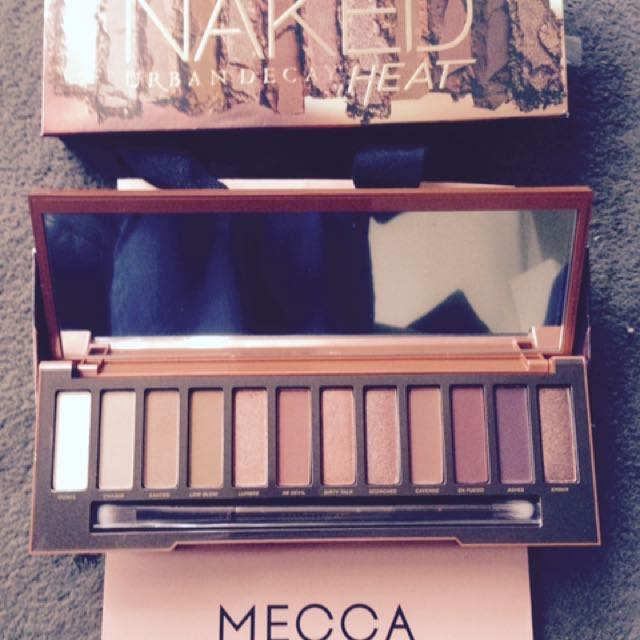 Newest from MECCA - Heat colour pallet - BRAND NEW!
