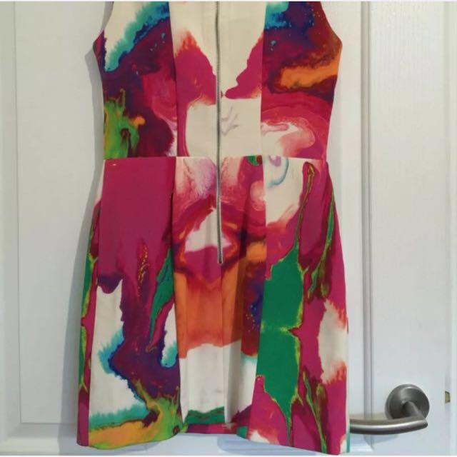 NICHOLAS The Label: Green With Envy dress Size 8 races dress