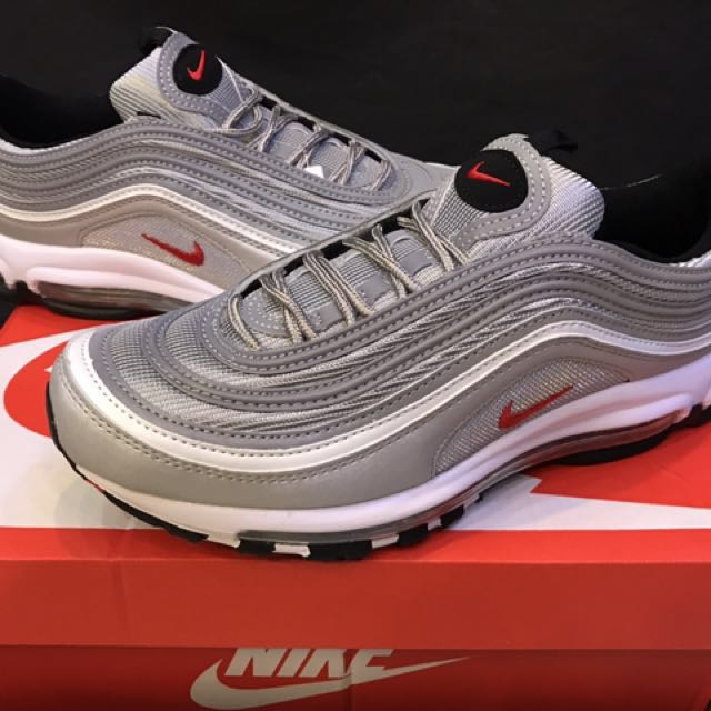 nike airmax 97 silver bullet og men s fashion footwear