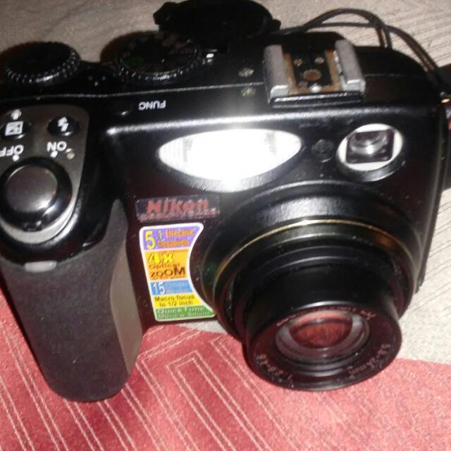 Nikon Coolpix 5400 Discdrive Included
