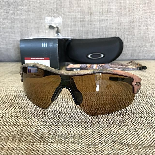 1f8809a95d16a ... wholesale oakley radar pitch woodland camo bronze polarized sports  sports games equipment on carousell 5a606 14218