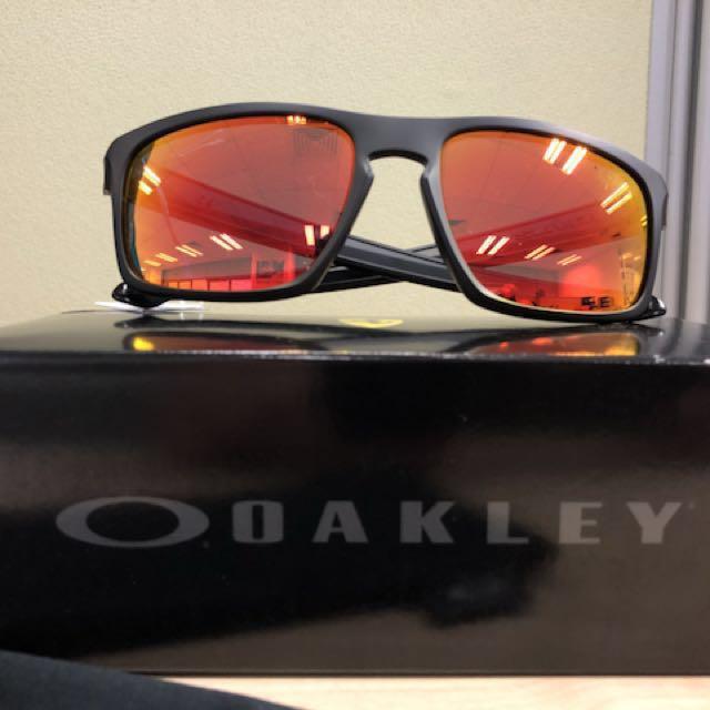 e4a5dc18af Oakley Sunglasses SLIVER FERRARI COLLECTION Matte Black Ruby Iridium ...