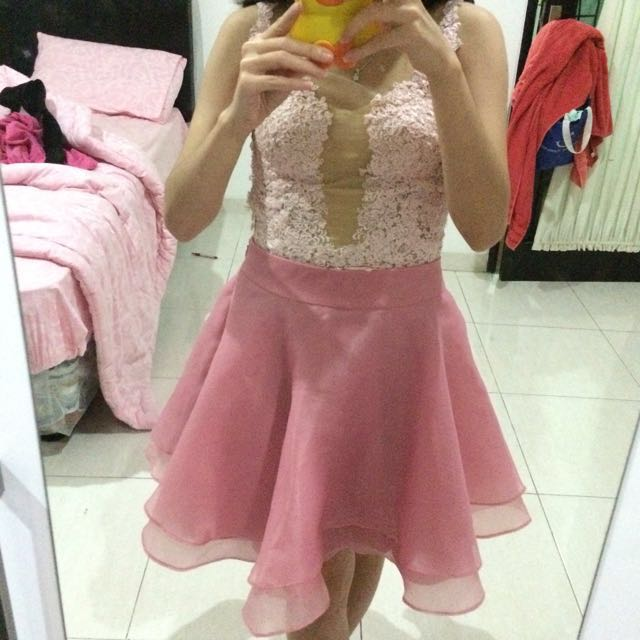 Organza Pink Skirt