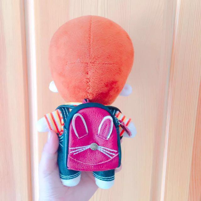 PO EXO bts 20cm doll: leather bunny bag