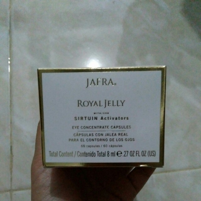 PRELOVED JAFRA Eye Concentrate Capsules