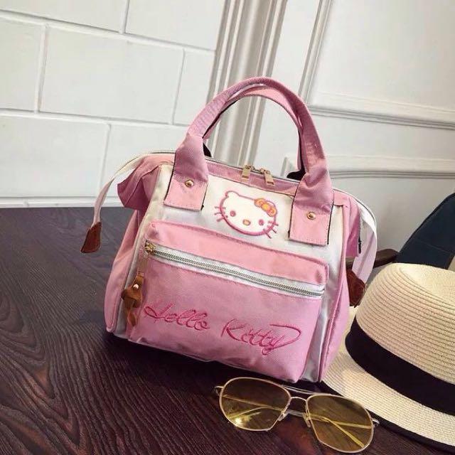 131e54a72e READY STOCK 🔥 Fancy Hello kitty Anello Backpack Bag Sling + ...