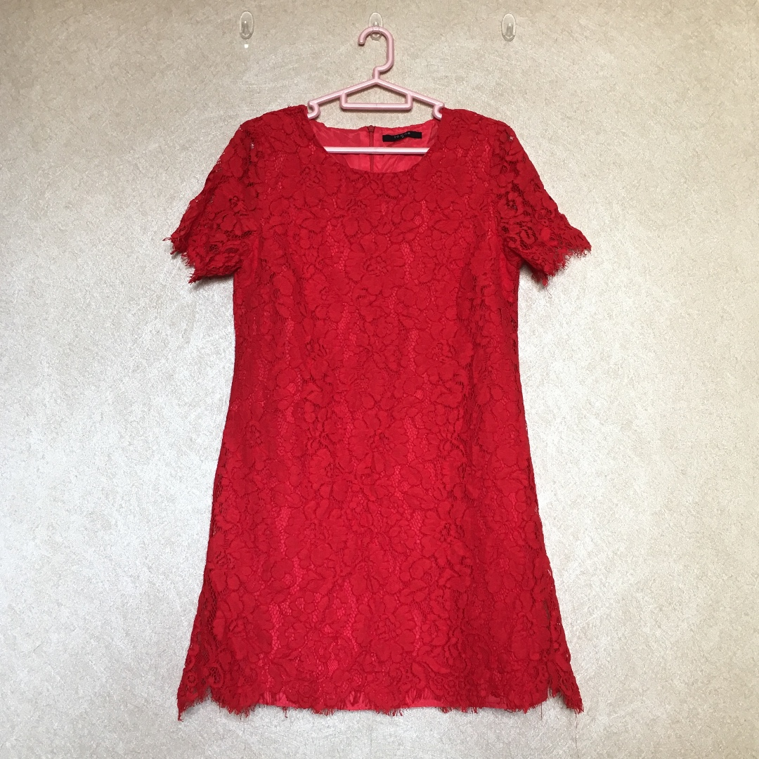 Red Lace Dress ( ICONS )