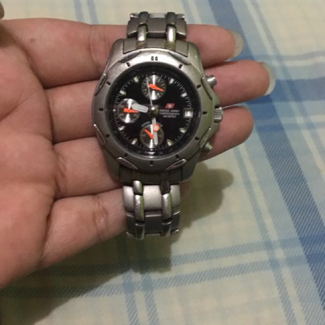 [REPRICE] Original Swiss Army Watch