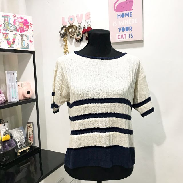 [REPRICED] KNITTED BLOUSE