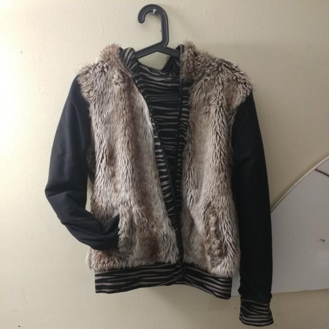 Reversible warm Jacket
