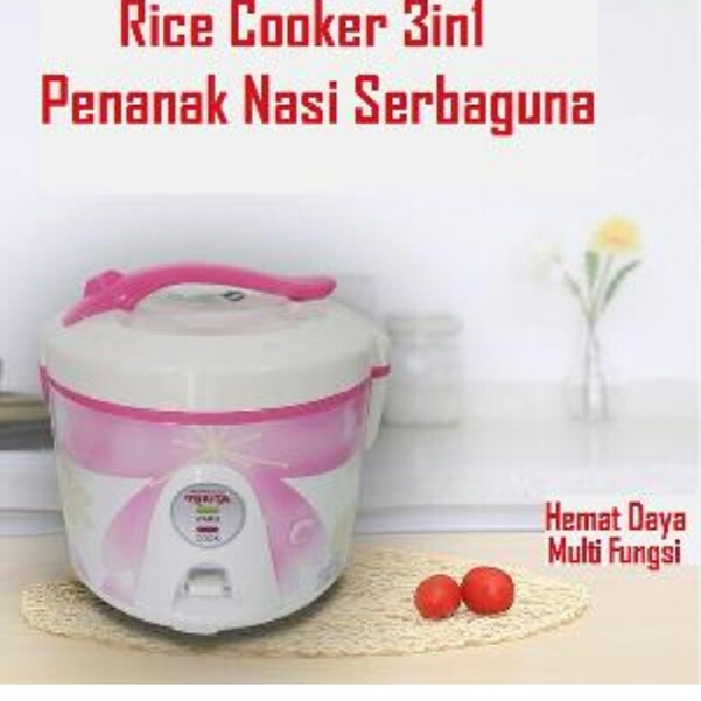 Rice Cooker 3in1 Super Com