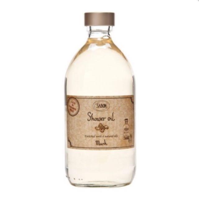 sabon麝香沐浴油
