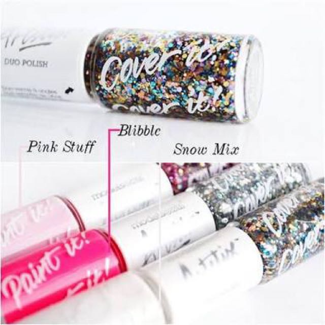 SALE- Models Own Artstix Snow Mix (Snow White & Ibiza Mix) Nail Polish