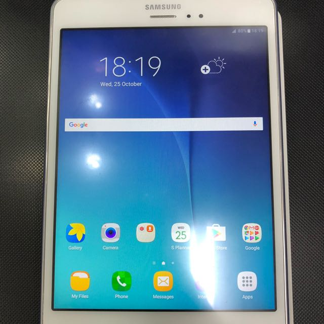 Samsung Tab A,8 0 inches,4g with Spen,android version