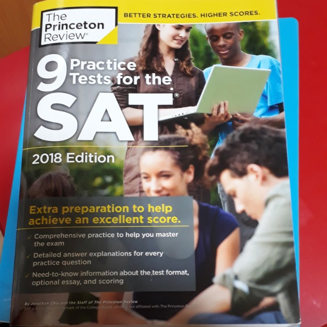 SAT 2018 The Princeton Review 9 Practice Tests, Books